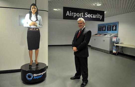 airport hologram