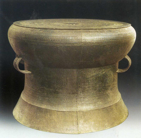 ancient bronze drum