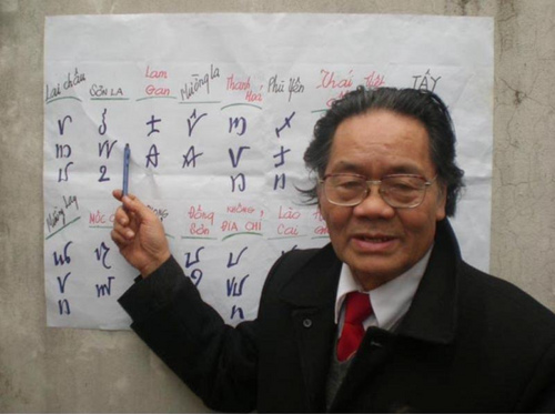 ancient viet script