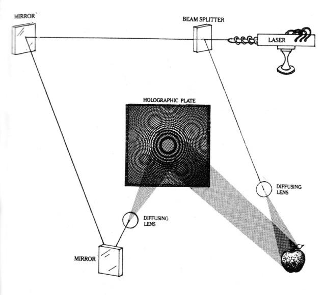 holograph diagram