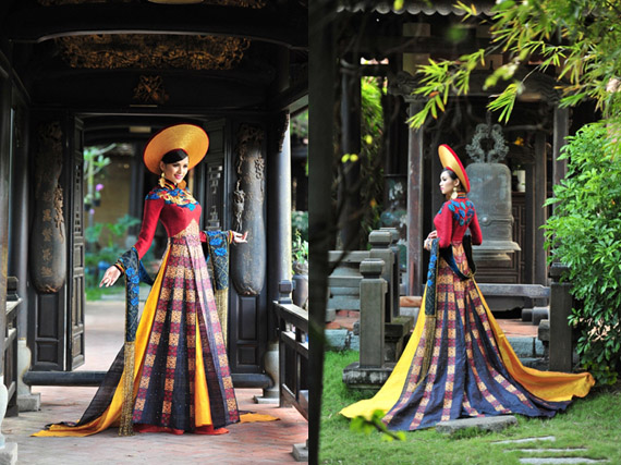 ancient ao dai combo 2