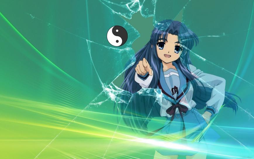 anime girl 77 shatter glass