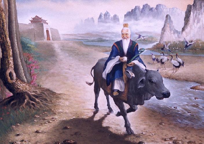 lao tzu painting
