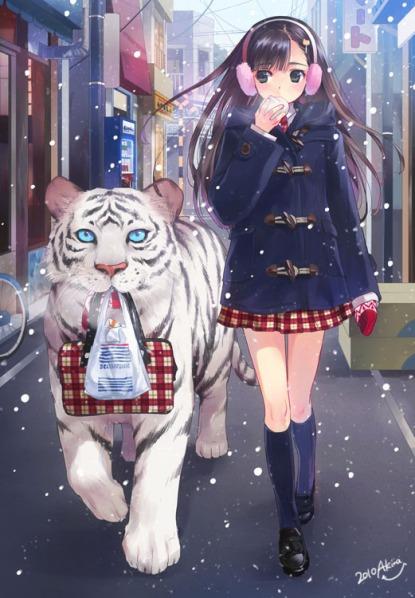 anime girl 212