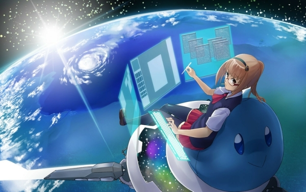 cute science wallpapers girls space - photo #32