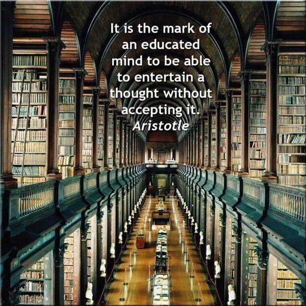 educated mind