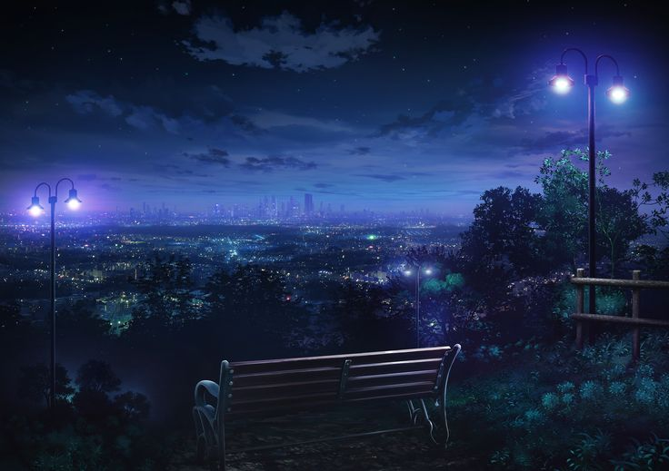 nightparkbench