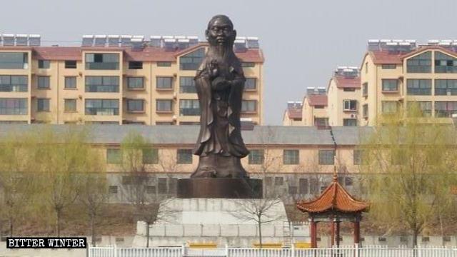 hybrid-statue